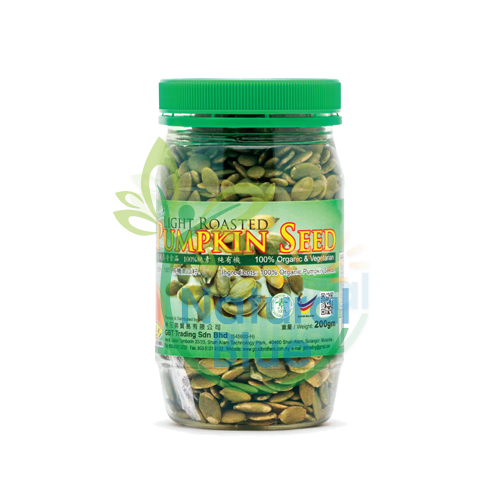 GBT-ROASTED PUMPKIN SEED, 200G</BR>有机南瓜籽